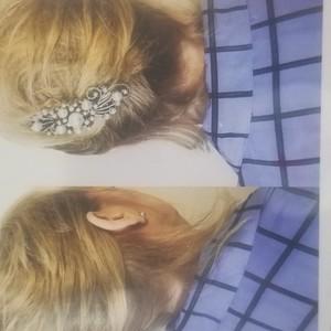 Bridal up do hair style