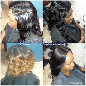 Maitland sew in hair styles