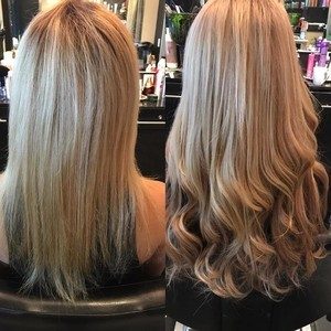 Ft. lauderdale blonde hair extensions