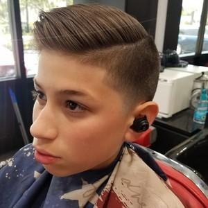 Winter springs boys hair cut