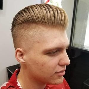 Winter springs mens undercut hair cut