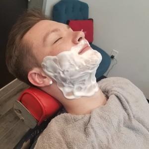 Winter springs straight razor shave