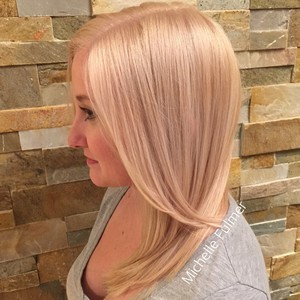 Winter garden blonde hair