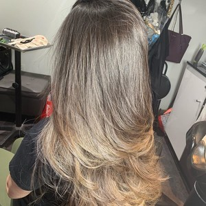 East colonial orlando balayage hair