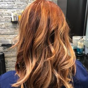Winter garden copper hair 2