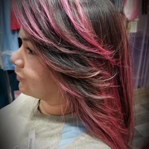 College park orlando pink hair