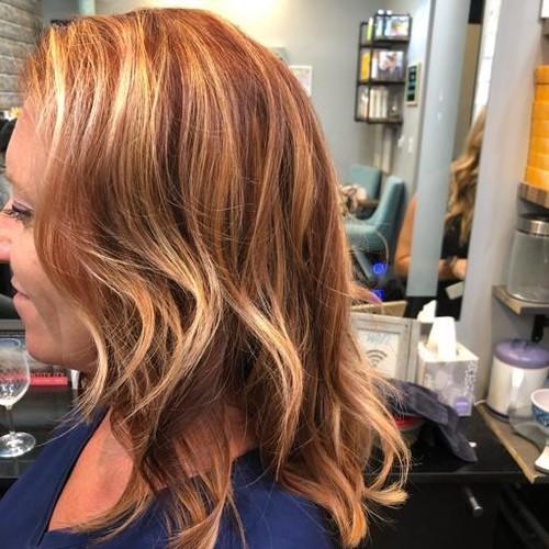 Winter garden copper hair