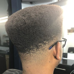 College park orlando mens hightop hair cut