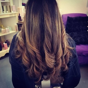 College park orlando womens balayage hair