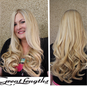 Hair extensions great lengths