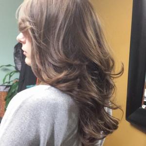 Hair kailee curls