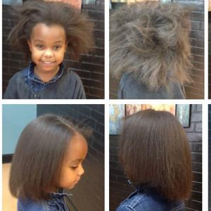 Little black girl gk collage