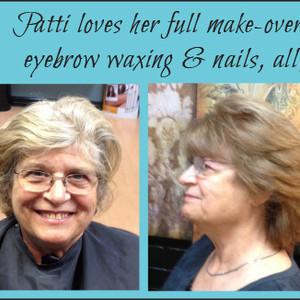 Patti makeover collage