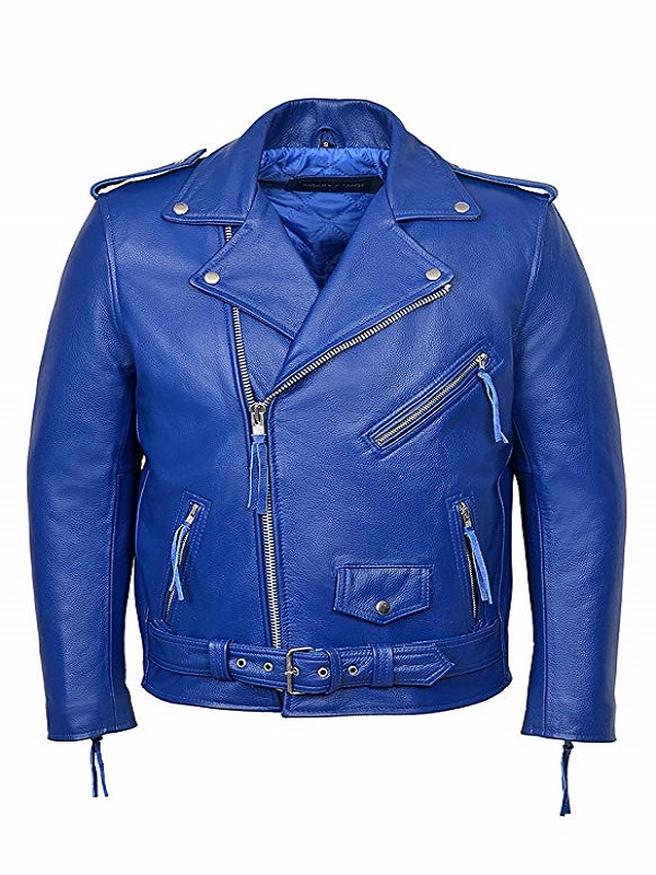 Real Leather Motorcycle Jackets For Men