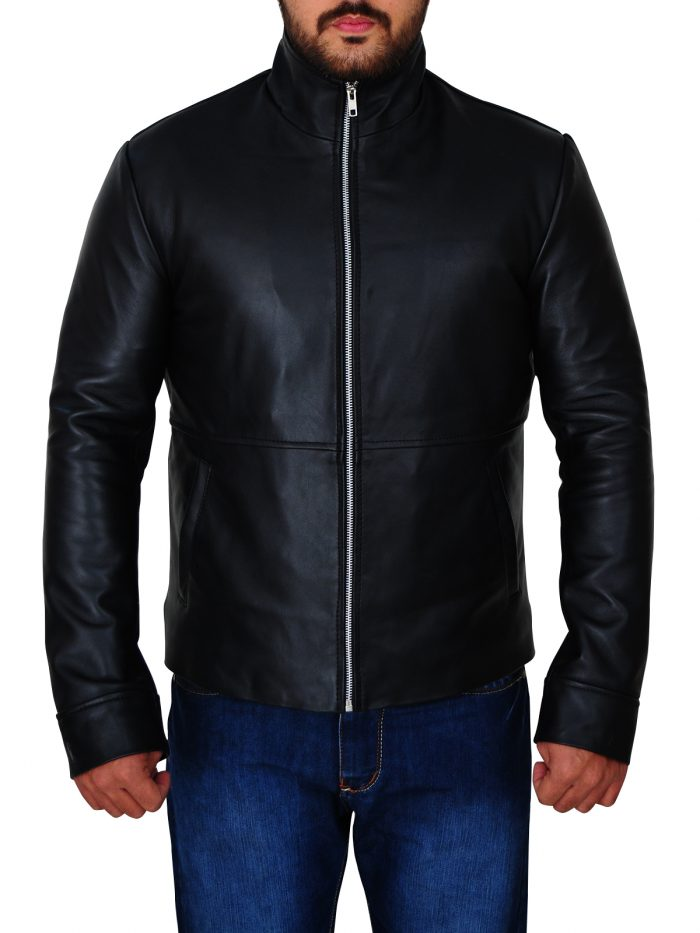 Minority Report Tom Cruise Synthetic leather Jacket For Men