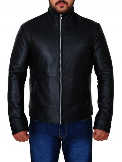 Mission Impossible Rogue Nation Tom Cruise Black Jacket For Men