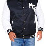 My Chemical Romance Black & White Varsity Jacket