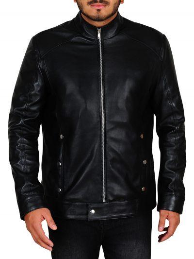 Mystery Limitless Bradley Black Cooper Leather Jacket For Men