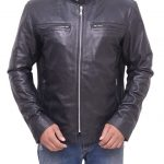 Men's Preacher TV Series Cassidy Black Leather Jacket