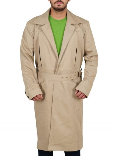 Rip Hunter Legends Of Tomorrow Long Cotton Coat For Men