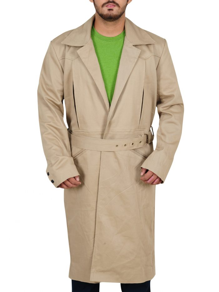 Rip Hunter Legends Of Tomorrow Long Cotton Coat For Men