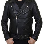 Riverdale Southside Serpents Black Leather Jacket For Men