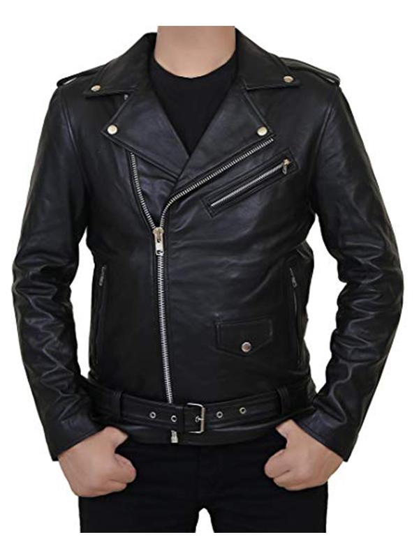 Riverdale Southside Serpents Black Leather Jacket For Men
