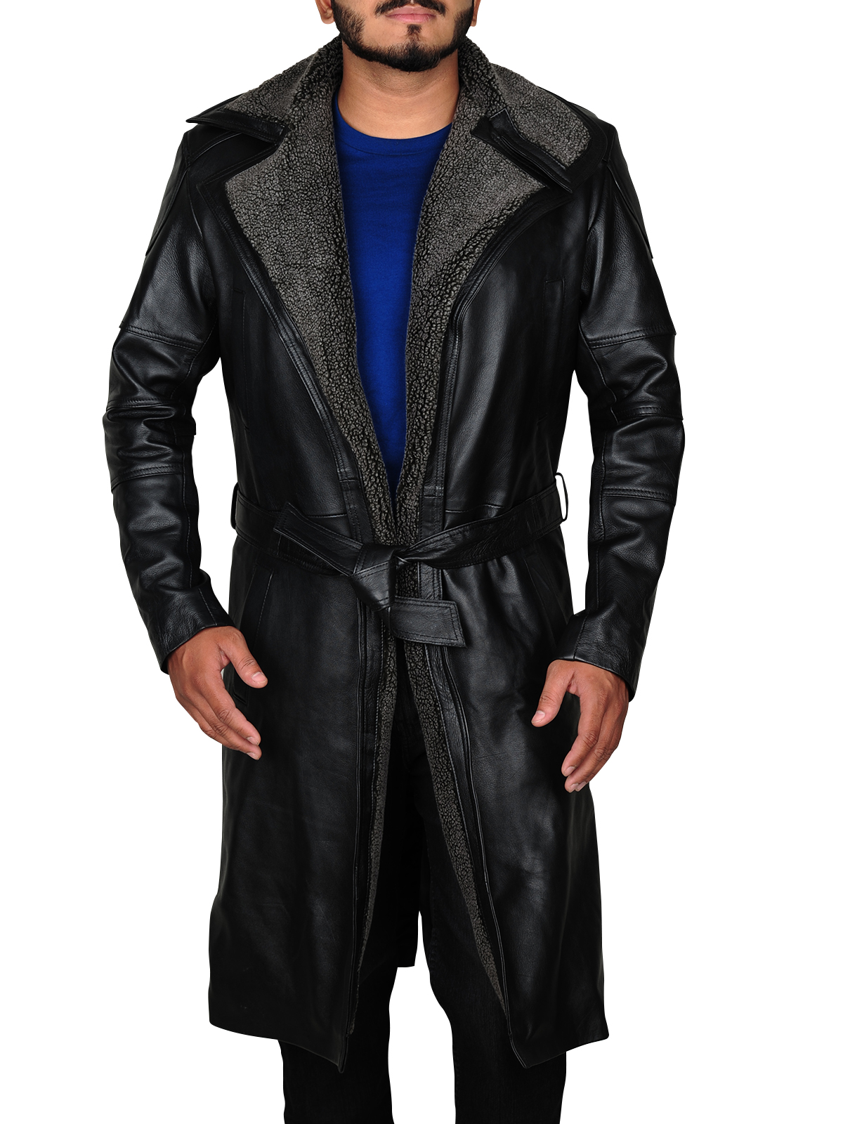 Men's Ryan Gosling Blade Runner 2049 Black Coat