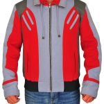 Red & Grey Ryan Potter Teen Titans Beast Boy Jacket