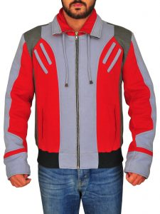 Red & Grey Ryan Potter Teen Titans Beast Boy Jacket