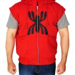 Spiderman Homecoming Red Hooded For Men