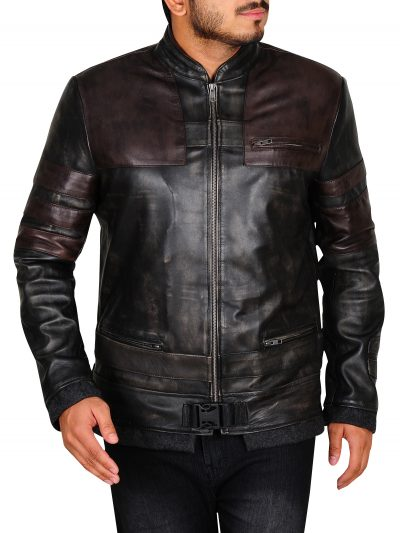 Starkiller Vintage Genuine Leather Jacket For Men