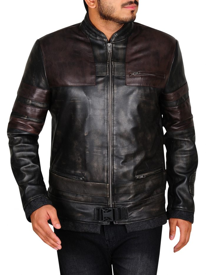 Starkiller Vintage Genuine Leather Jacket For Men