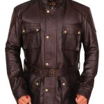 The Curious Case of Benjamin Button Brad Pitt Leather Jacket