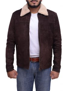 The Walking Dead Andrew Lincoln Dark Brown Jacket