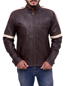 Tom Cruise War of the Worlds Brown Jacket For Men