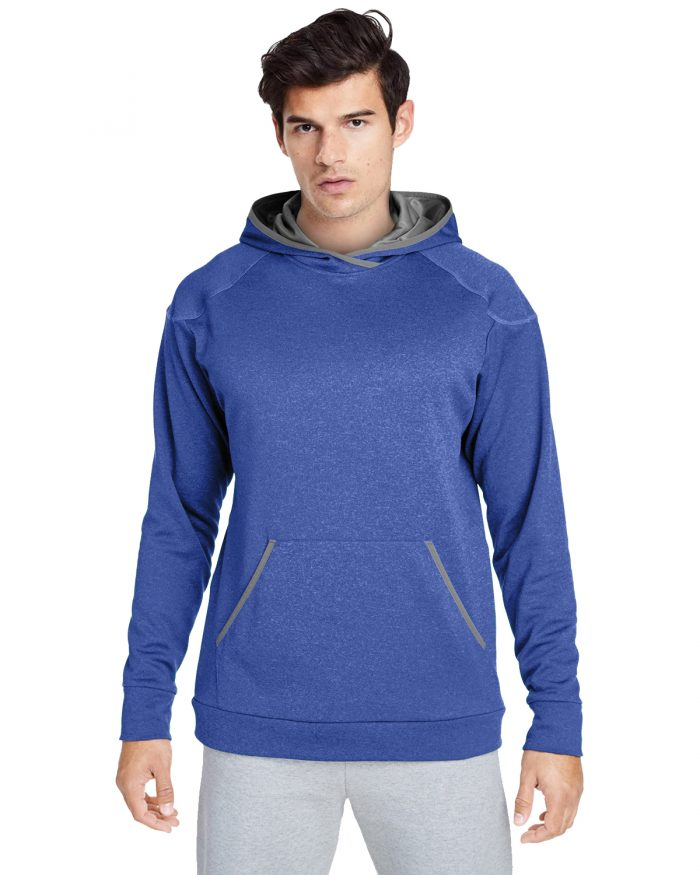 Adult Excel Melange Performance Fleece Hoodie For Men