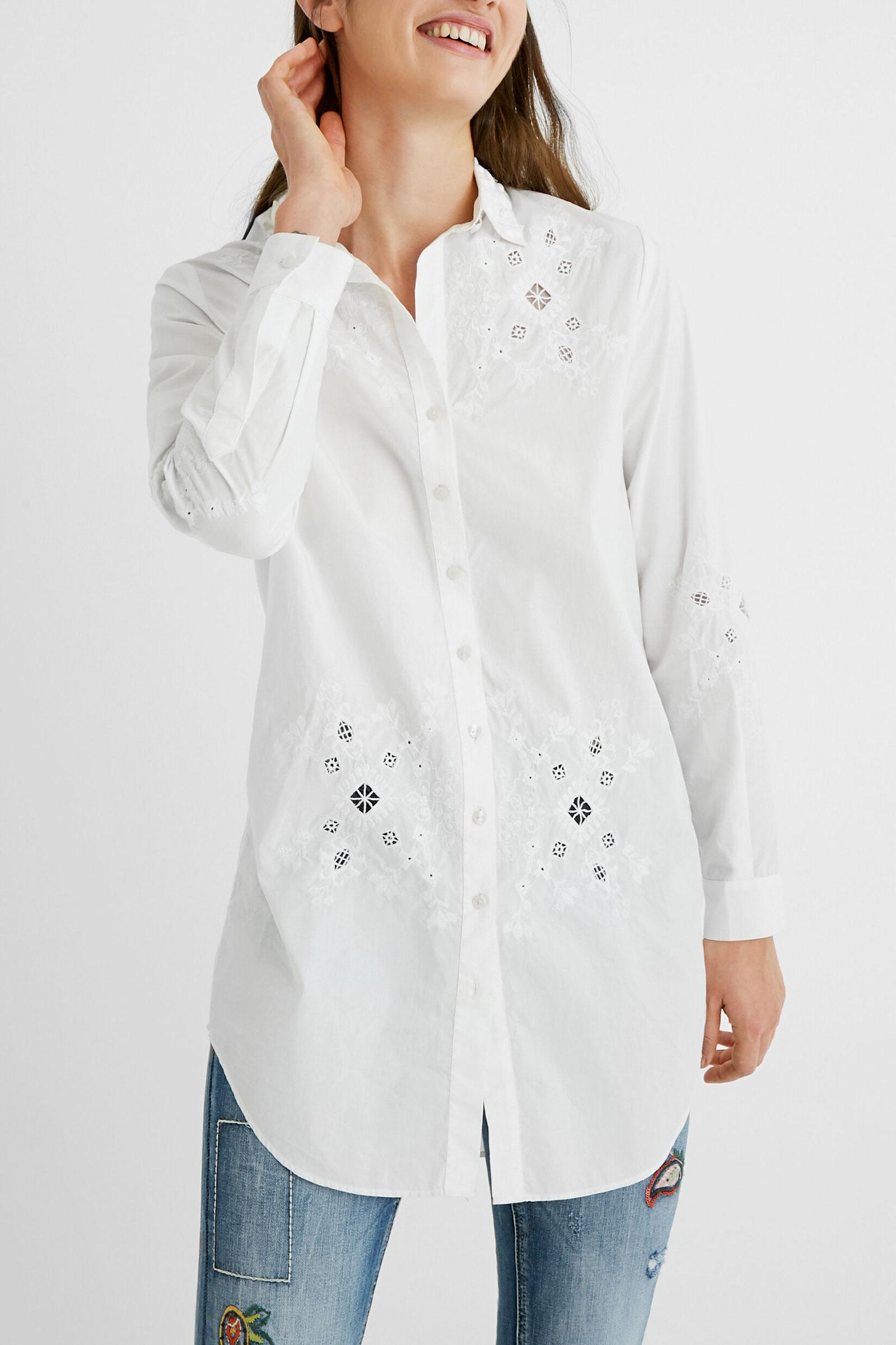 DESIGUAL Shirt Woman Model GARONA DESIGUAL | Shirt | 20WWCW501000