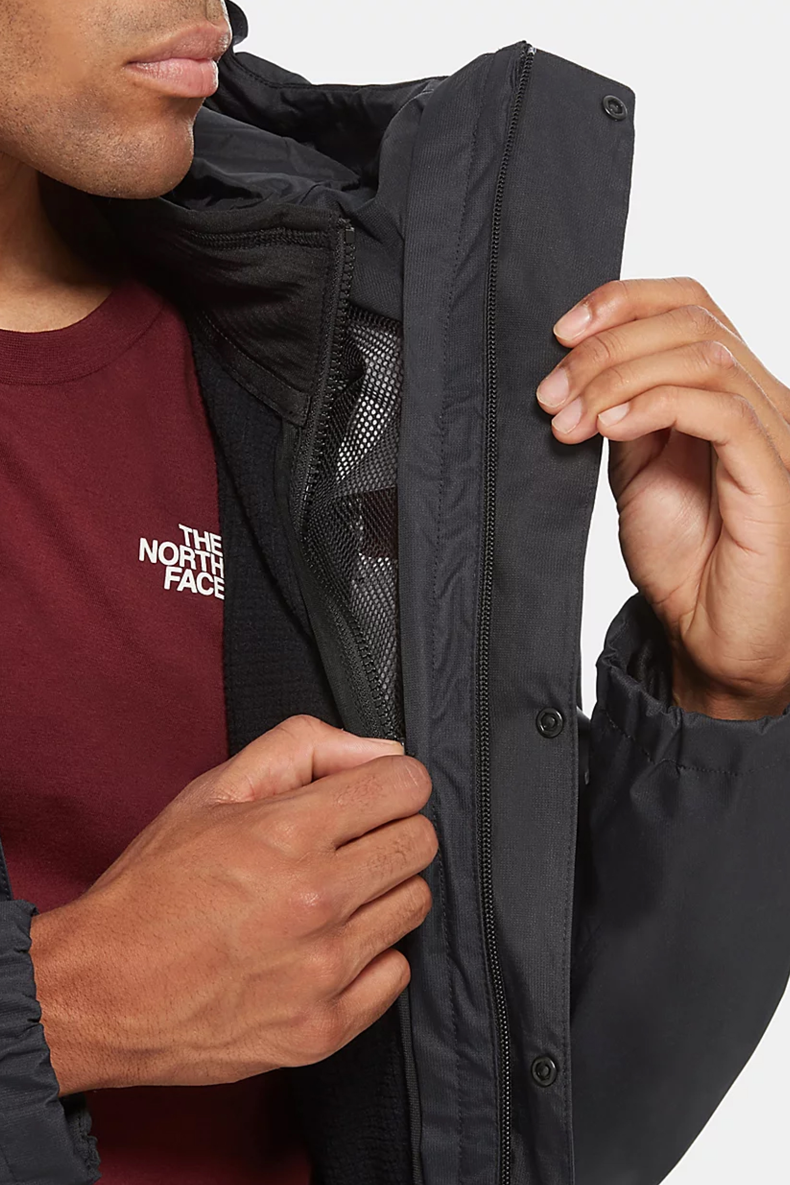 THE NORTH FACE Men's Quest ZIP-IN Triclimate Model Jacket THE NORTH FACE | Jacket | 3YFHJK3