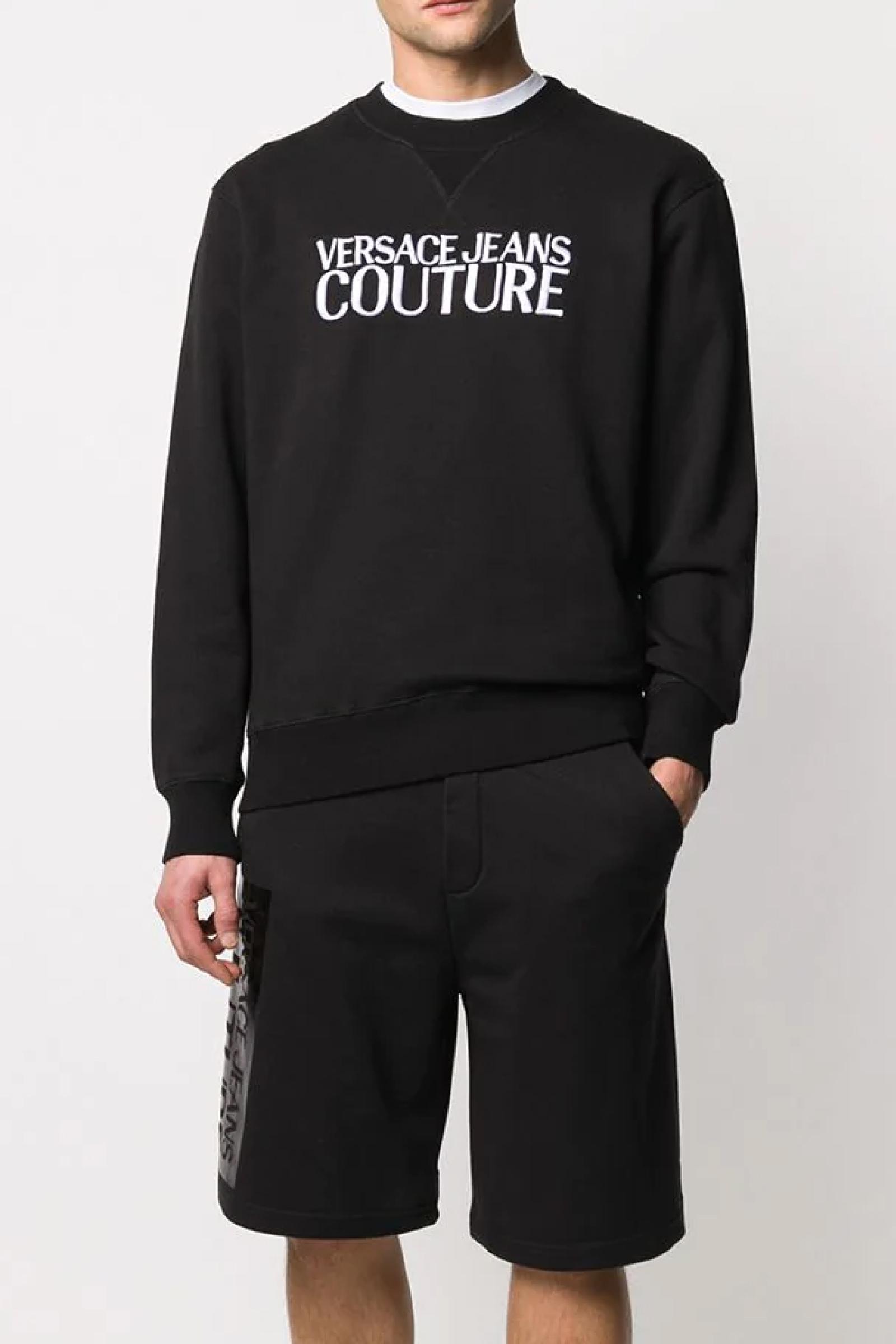 VERSACE JEANS COUTURE Men's Sweatshirt VERSACE JEANS COUTURE | Sweatshirt | B5GZB802 50248LC9 ZUMM02