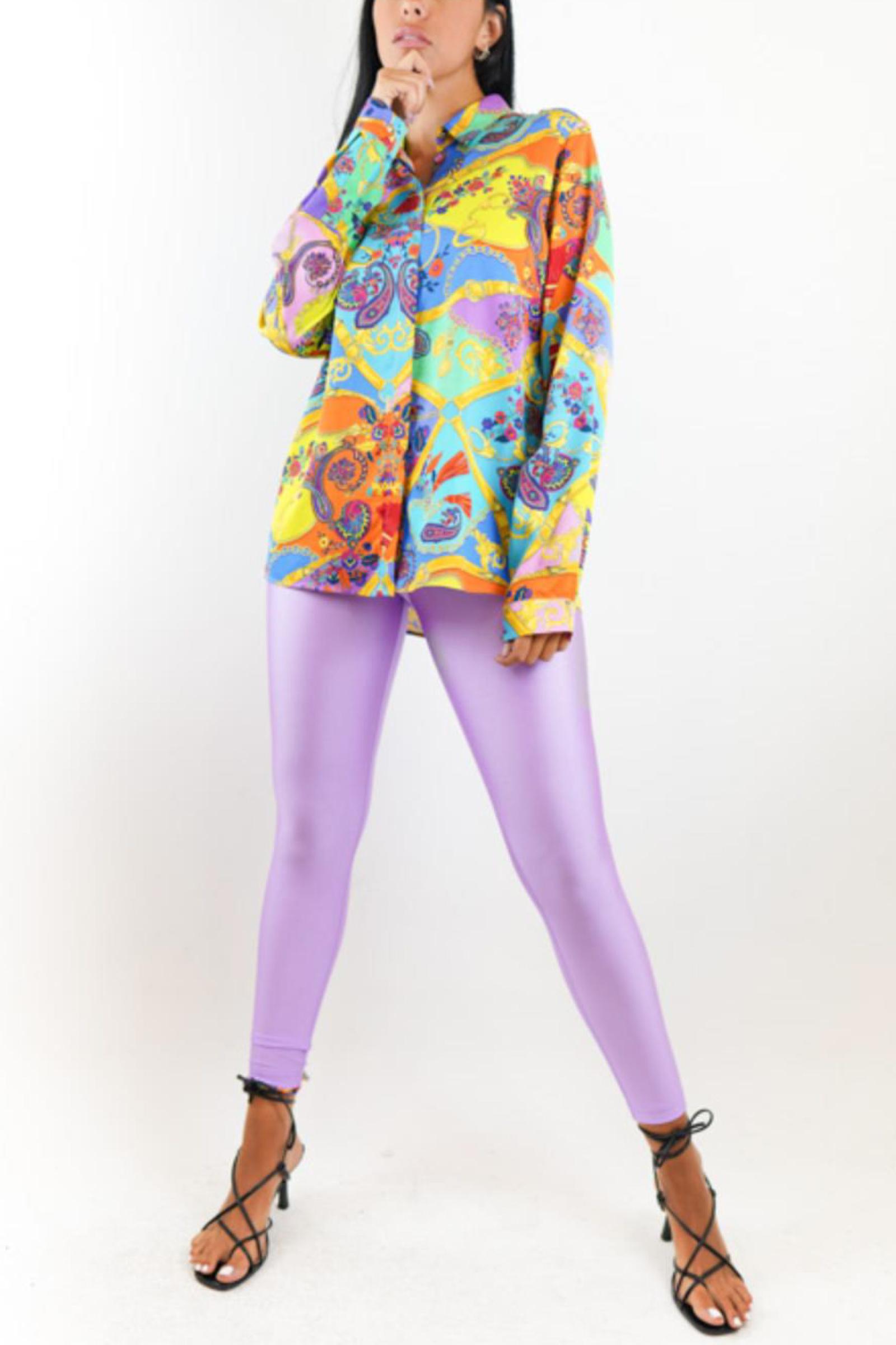 VERSACE JEANS COUTURE Leggings Woman VERSACE JEANS COUTURE | Fuson | D5HZA163.04745304 ZDP101