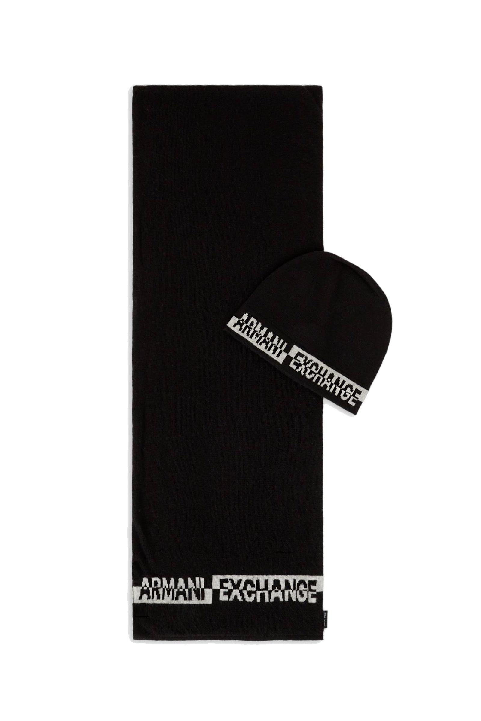 Set Sciarpa Cappello Uomo ARMANI EXCHANGE | Completo | 954651 CC31100020