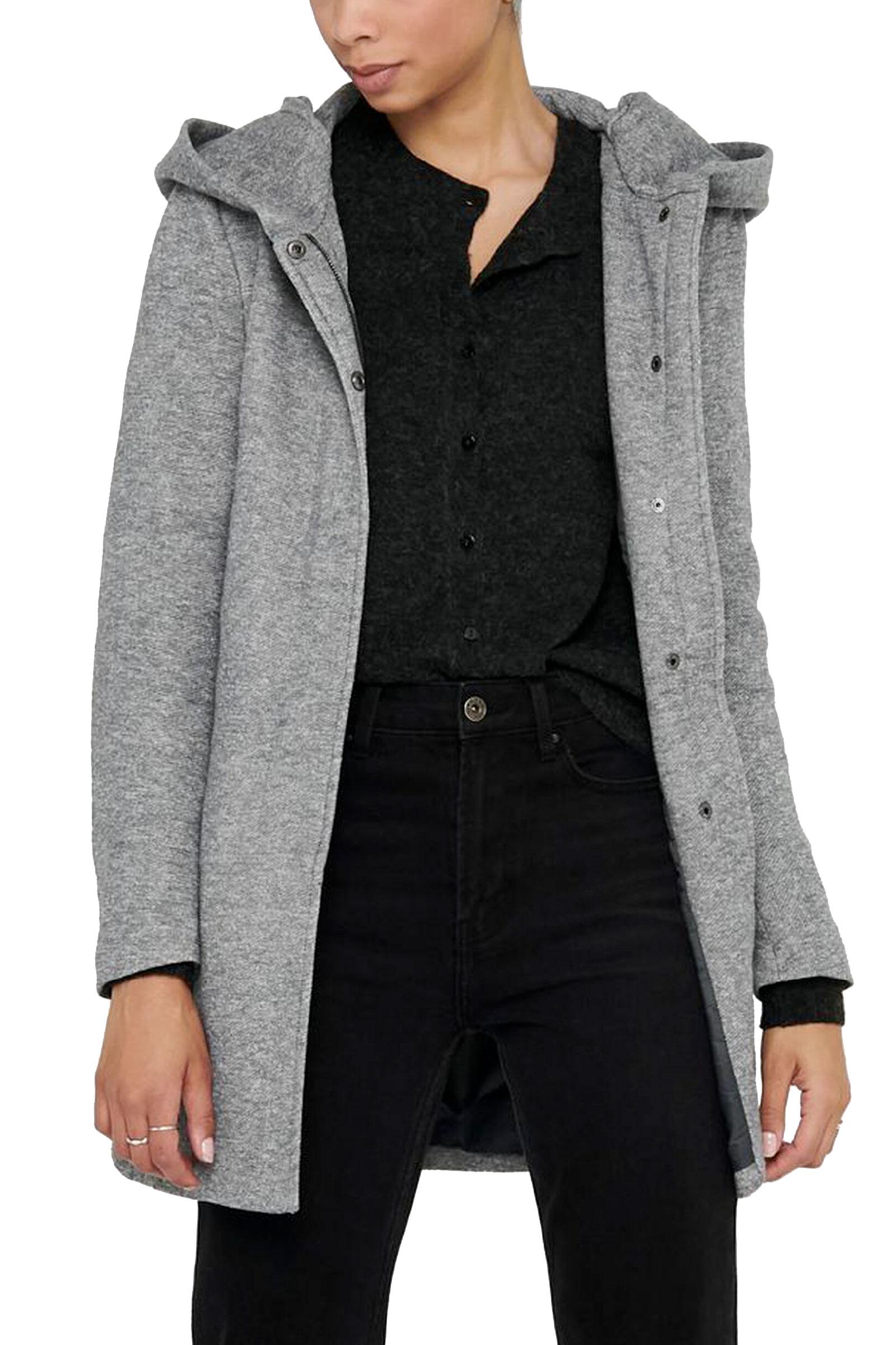 Cappotto Donna Modello Sedona ONLY | Cappotto | 15142911Light Grey Melange