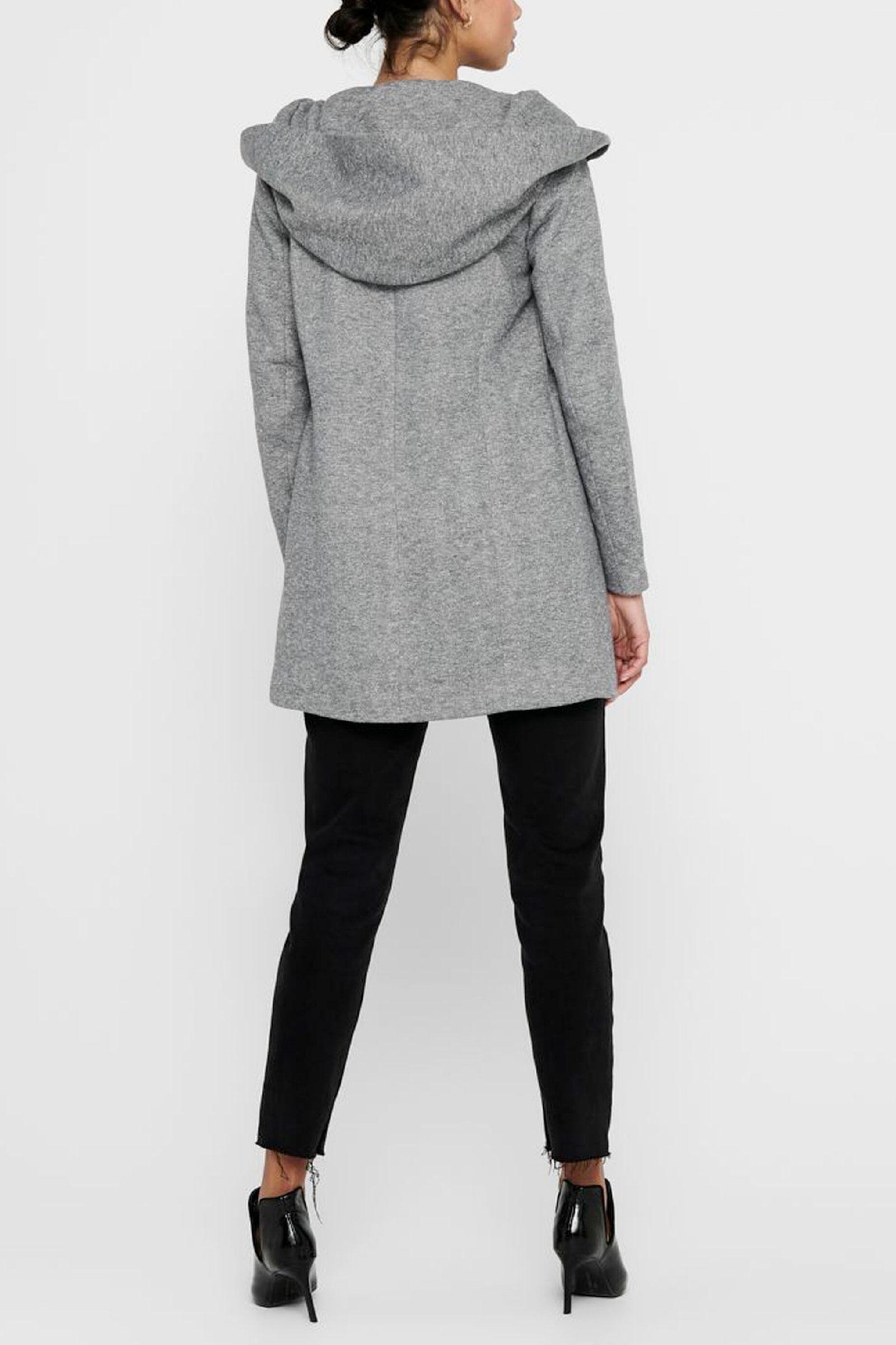 ONLY   Coat   15142911Light Grey Melange