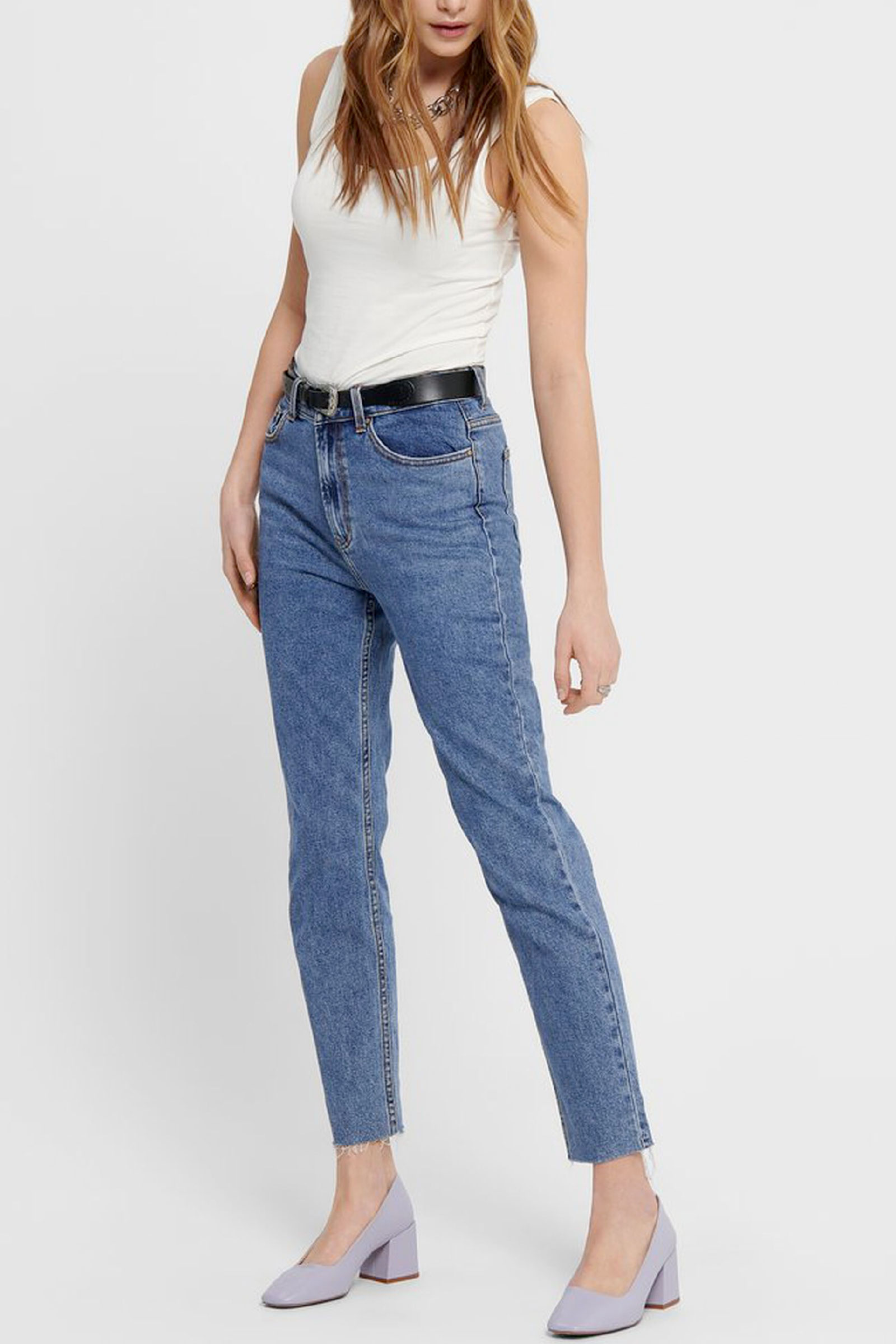Jeans Donna Modello Emily ONLY   Jeans   15171549Dark Blue Denim