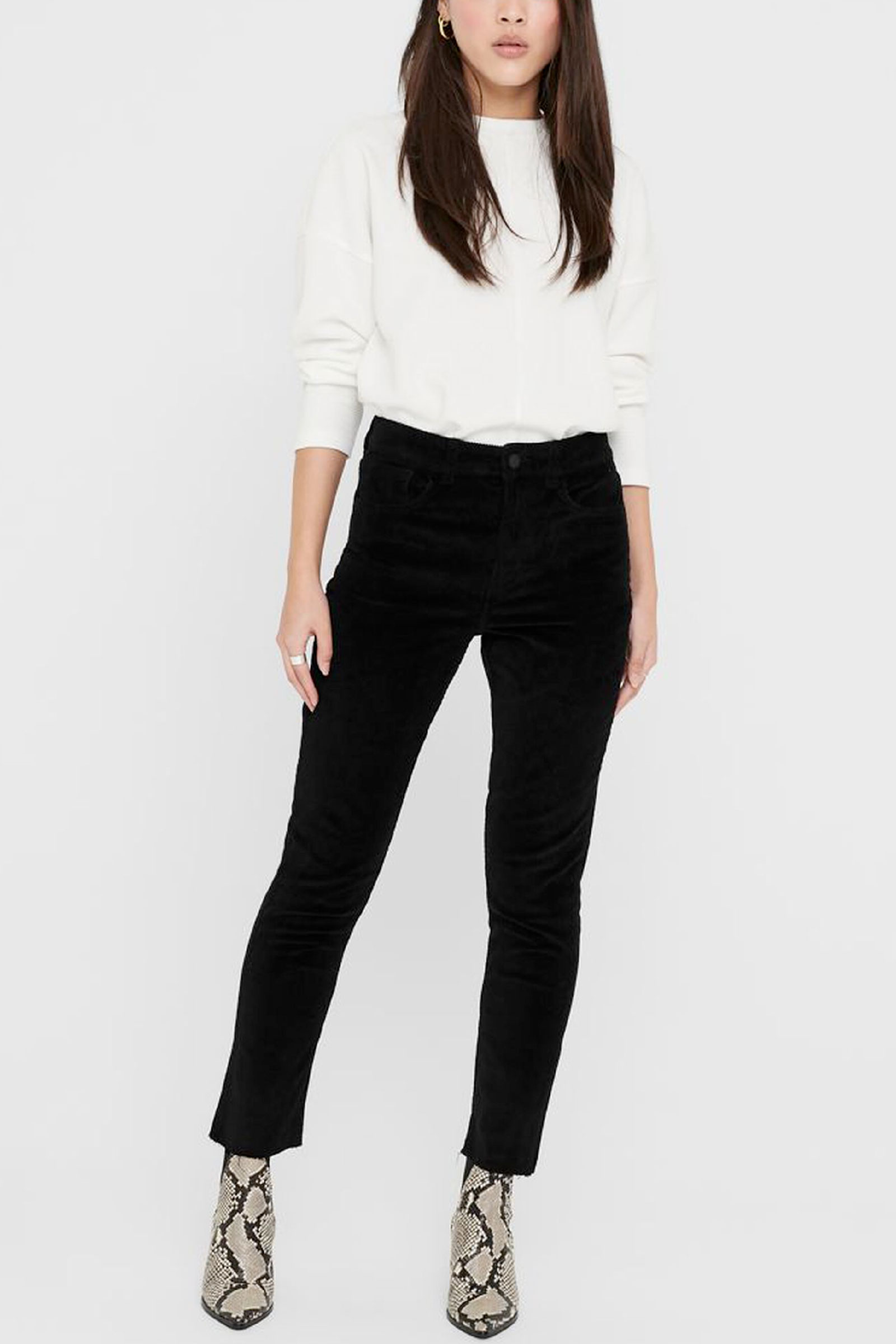 Pantalone Donna Modello EMILY ONLY   Pantalone   15195424Black
