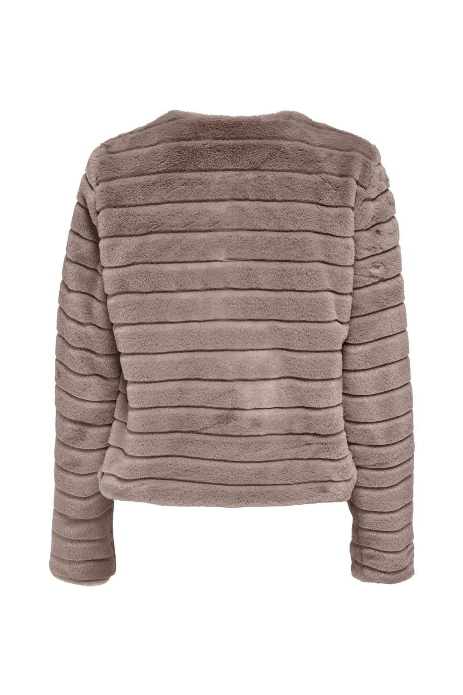 Woman Jacket Model LOUISE ONLY   Jacket   15228664Taupe Gray