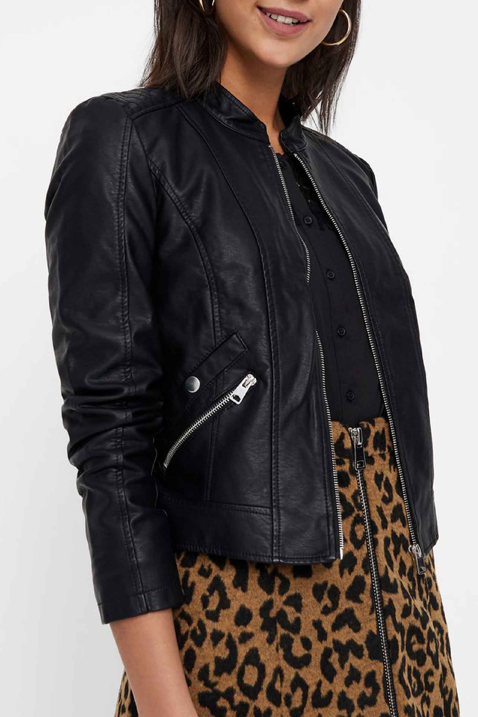 Women's Black Jacket VERO MODA | Jacket | 10212316Black