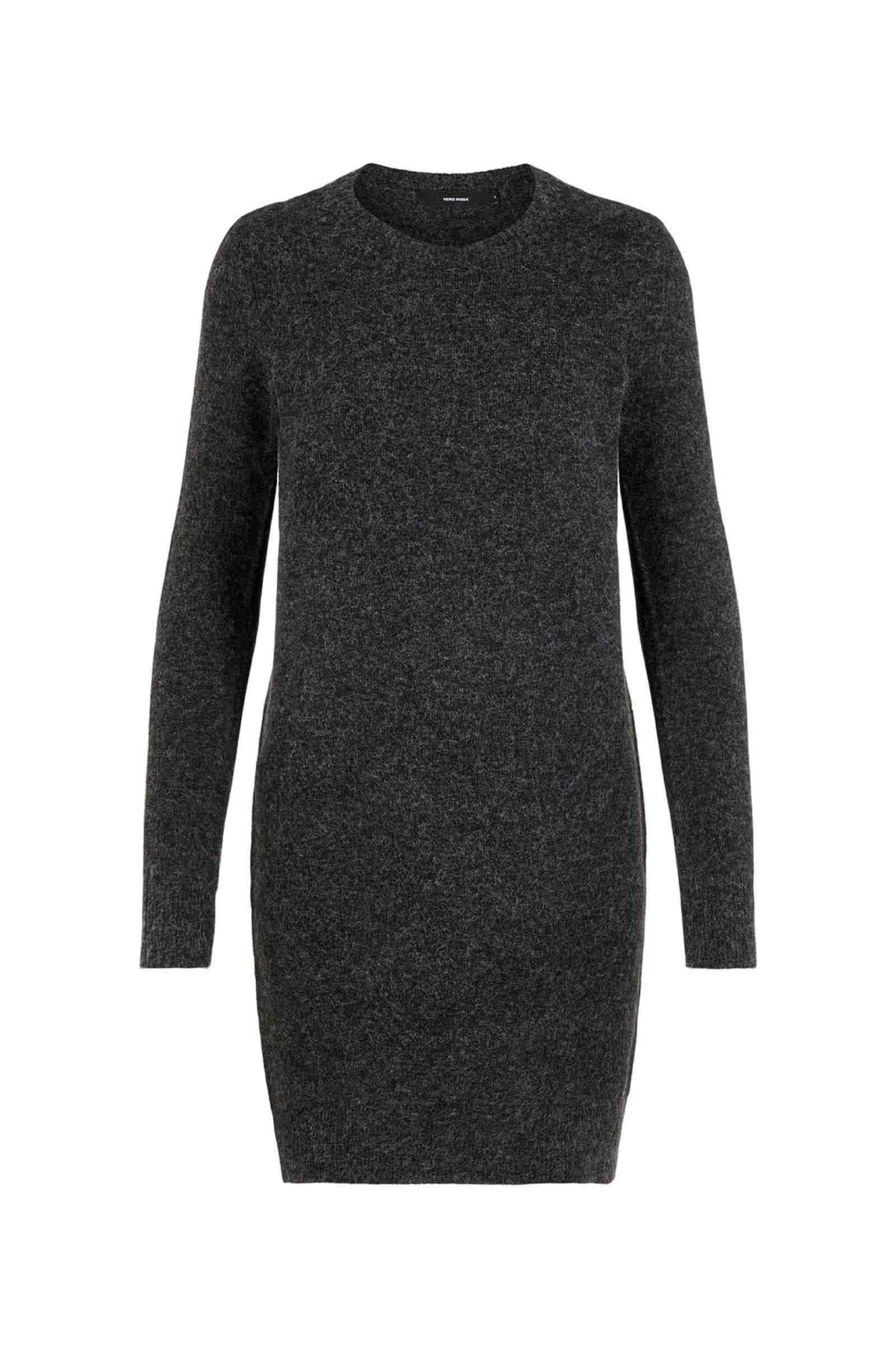 Women's Black Dress VERO MODA | Dress | 10215523Detail-MELANGE