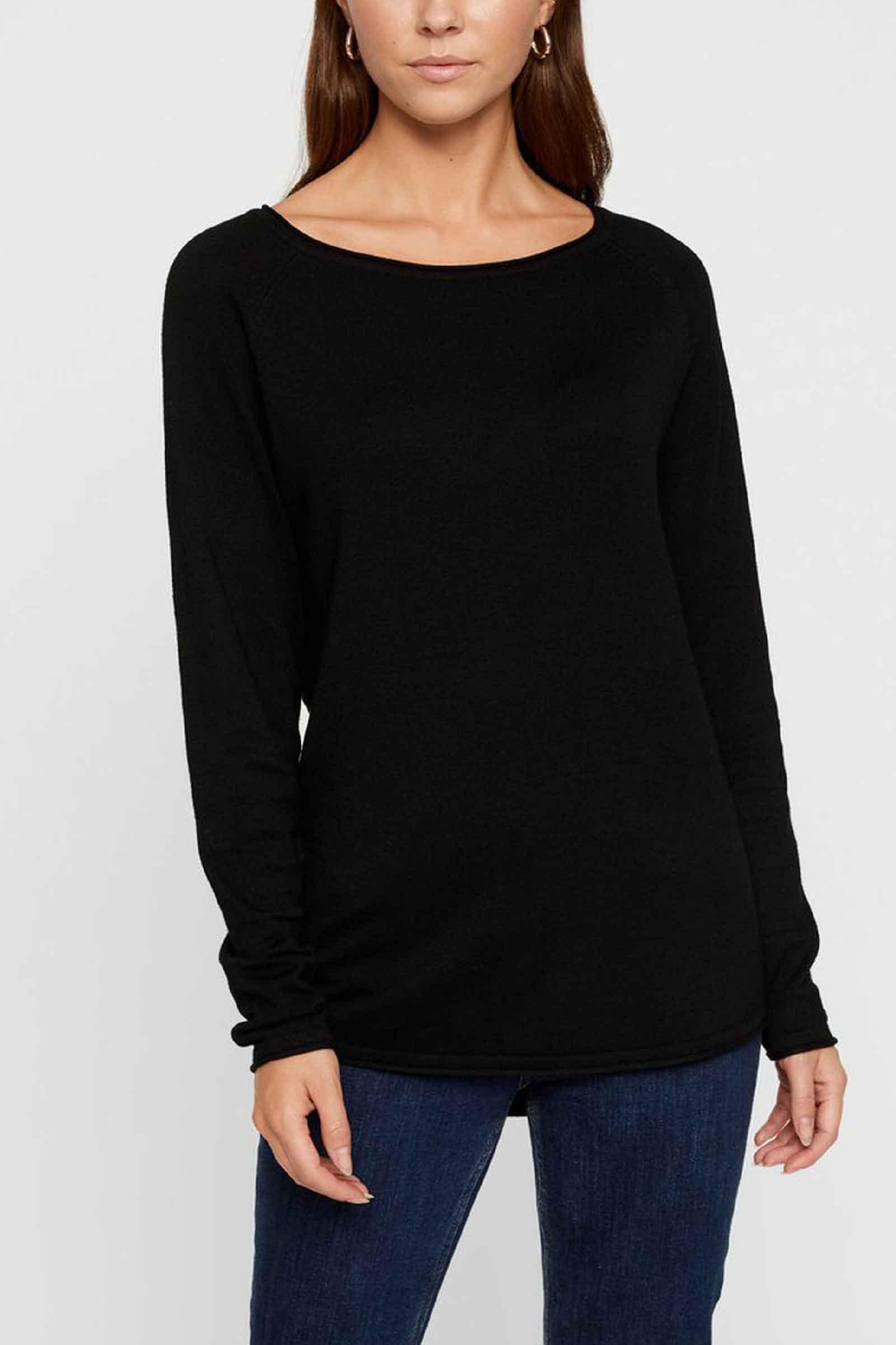 Women's Black Sweater VERO MODA | Mesh | 10220902Black